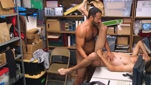 Young Perps - Vinnie Stefano with Mendoza Monroe stripteasing