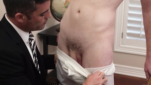 MissionaryBoys: Bishop Hart in briefs quick groped in office