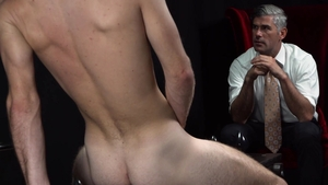 MissionaryBoys.com: Tanned Elder Esplin moaning in the woods