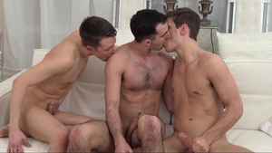 MissionaryBoys - Thick Elder Dudley orgy outside