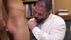 MissionaryBoys.com - Amazing Elder Sorensen stroking sex tape