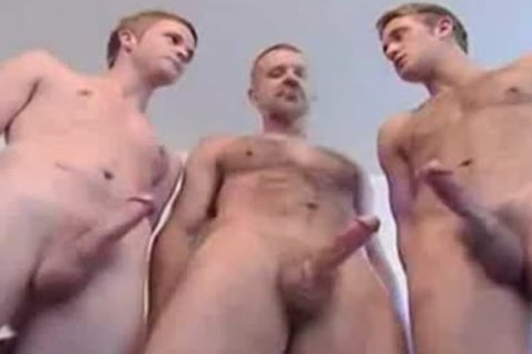3 man Jack Off Contest