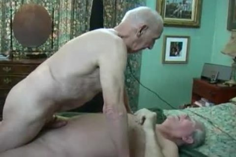 Two old studs Making Love
