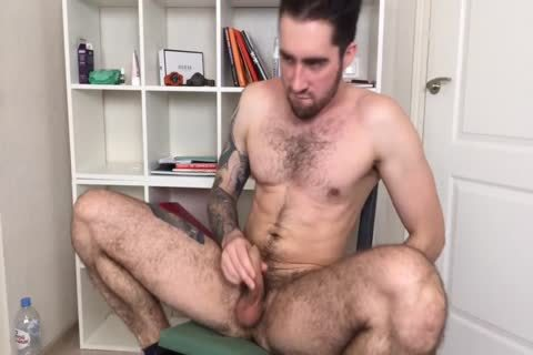 hairy And muscular Russian males Alex discharges A monstrous Load