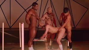 DrillMyHole - Muscle Francois Sagat lusts real sex