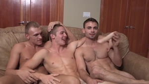 SeanCody.com: Inked David with american Tanner indoors