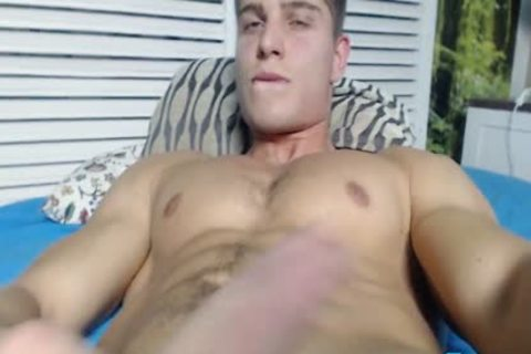 Alain Jarry On Flirt4Free - Sculpted Hunk With A ideal weenie Shows Why he'd Be A Great plow