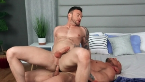 Sean Cody: Brock & Sean blowjob cum in the bed
