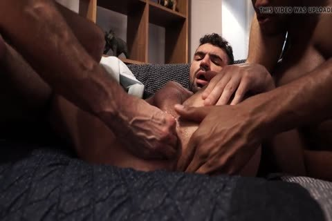 filthy 3some - Fisting, wazoo plow, blowjob, love juice On pooper