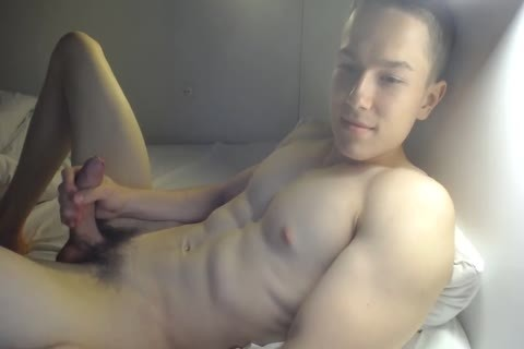 filthy 20yo built twink From Slowakia Strokes jock And sperm