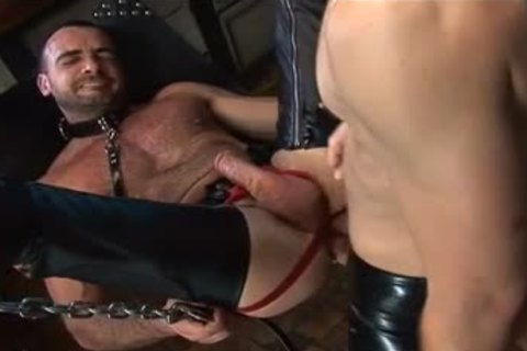 painfully homosexual Leather Agressive nail By DoomGAY