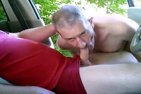 lewd homosexual boys On Car Have Some Public And Outdoor Sex