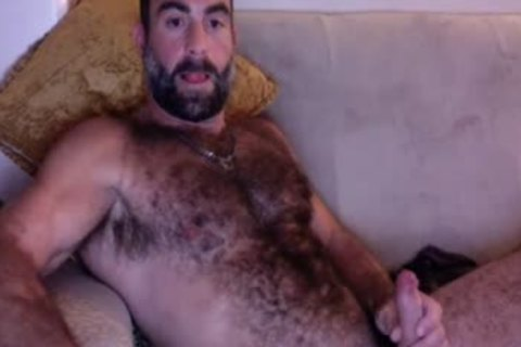 Sunday undressed Up Dilf Smoking On daybed