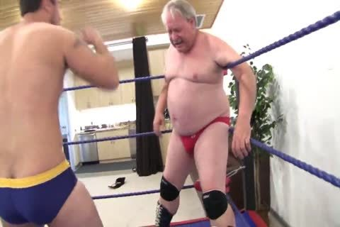 old Vs youthful Wrestling