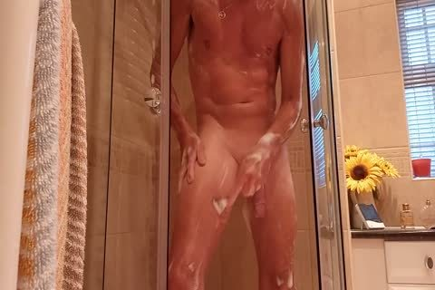 Shower Shave jerk off