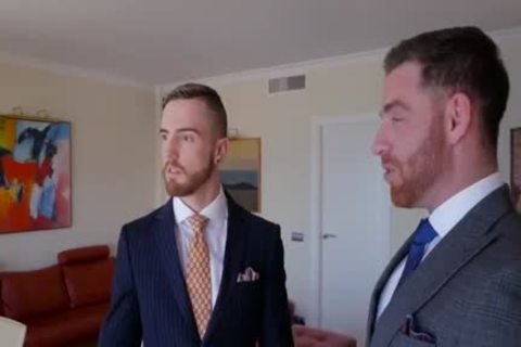 homosexual Suit blowjob And butthole