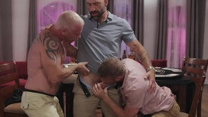 Icon Male - American Ryan Carter with pierced Link Parker orgy