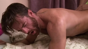 IconMale: Hard ramming with hairy Max Sargent Brendan Patrick