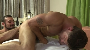 Icon Male - Hairy Jaxton Wheeler anal fucked rimjob