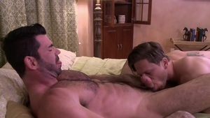 IconMale - Roman Todd alongside hairy Billy Santoro