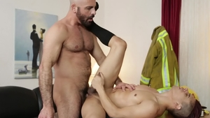 Icon Male - DILF Adam Russo smashed by huge penis Armond Rizzo