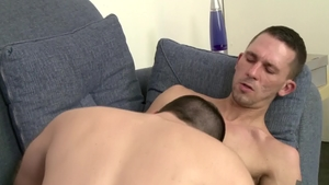 IconMale - James Hamilton and hairy Aaron Slate blowjobs