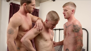 NextDoorOriginals - Athletic Chris Blades show huge cock