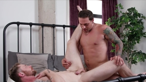 Next Door Raw - Caucasian Eddie Danger throat fuck at the gym