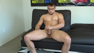 Next Door Casting - Muscled Aston Barrett desires raw fucking