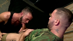 MenOver30 - Hairy Julian Knowles brunette rimming porn