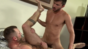 Pride Studios - Hairy Scott DeMarco wishes for dick sucking