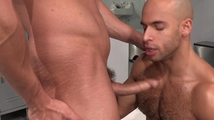 HotHouse.com - Wet straight guy Joey D helps with fucking