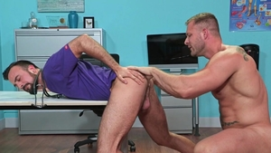 Hot House: Hairy Austin Wolf anal