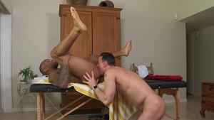 Hot House - Remy Cruze touching giant cock