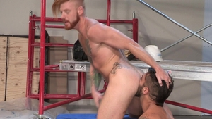 HotHouse: Sex scene plus tight latino furry Bennett Anthony