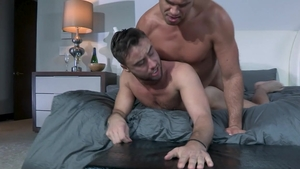 Falcon Studios - Thick chinese hunk Tyler Roberts digs teasing