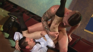 FalconStudios - Inked Troy Haydon jack off video