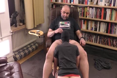 Great face hole To penis Massage After Day At Work
