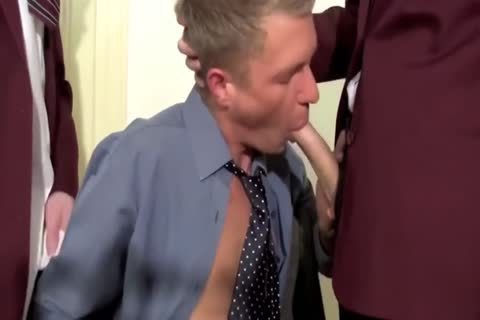 Teacher receives Double Teamed bareback By His Students