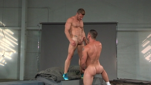 Raging Stallion: Passionate Derek Atlas sucks Landon Conrad