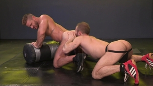 Raging Stallion: Landon Conrad & Shawn Wolfe rimming