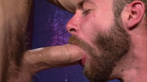 Raging Stallion: Hairy Seth Fisher challenge ass to mouth