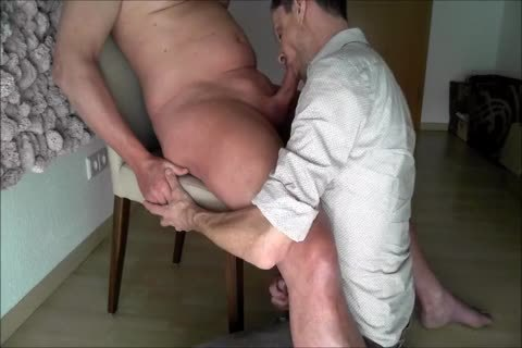 An older fellow gets A kinky oral And I gulp