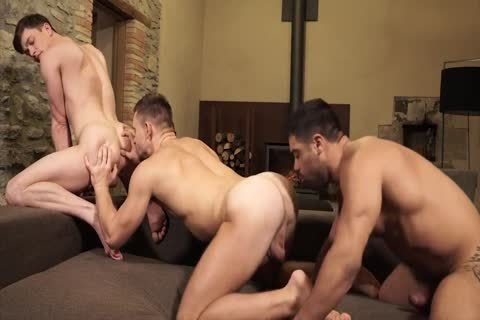 Andrey Vic, Wagner Vittoria And Ruslan Angelo - Super pound For Three - ass sex, oral enjoyment stimulation, Cumshots, bare