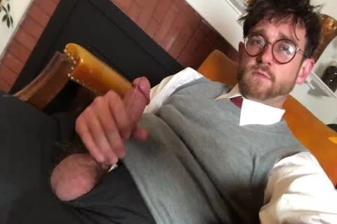 Harry Potter Pulls Out His large weenie After Magic Lessons