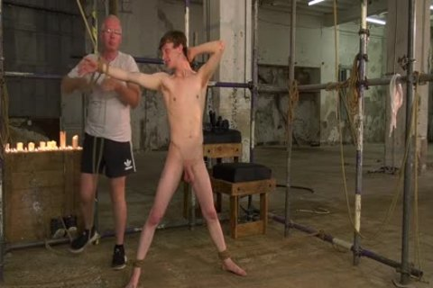 Sub Teenager Alex Faux fastened Up And Sucked Off By Sebastian Kane