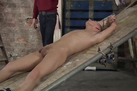 Stretched And Stroked E Stim