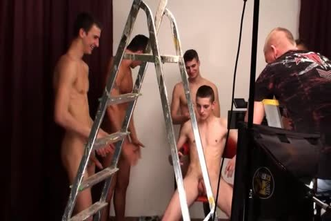 Jozef Vavrich bunch group sex bare Backstage
