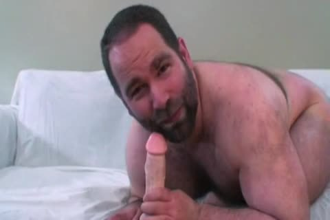 rock hard Bear John X  dick Teasing cum engulfing anal Breeding