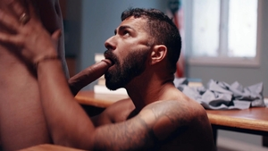 IconMale: Tristan Hunter & Adam Ramzi fantasy handjob